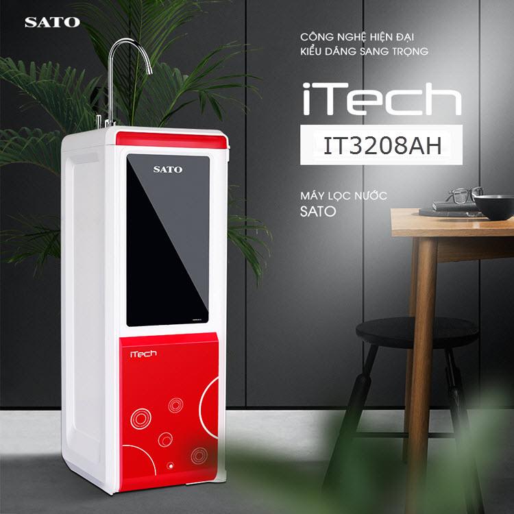 Máy lọc nước SATO Hydrogen iTECH iT3208AH 8 cấp lọc