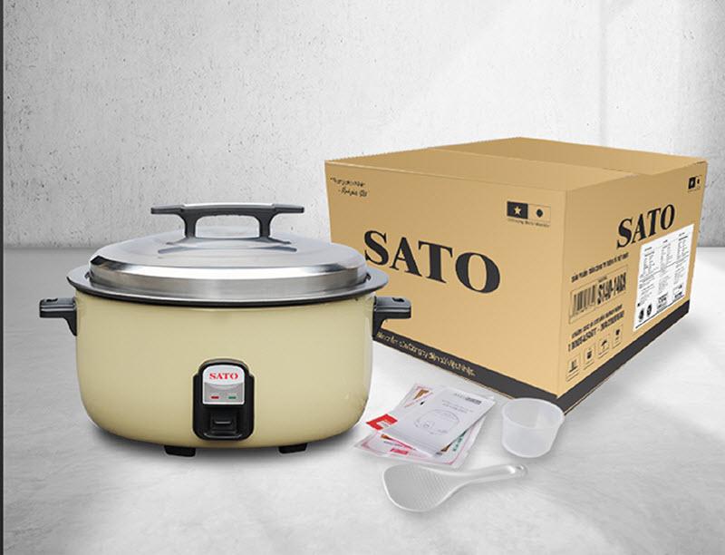 Nồi cơm điện công nghiệp SATO P16 16 Lít 6